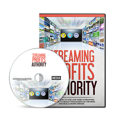 Cover Streaming Profits Authority Gold Video Upgrade