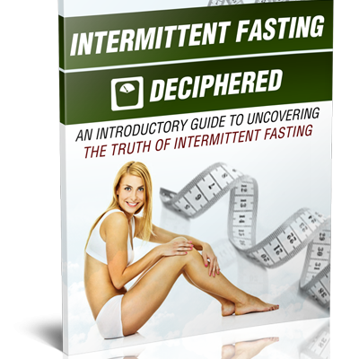 Cover Intermittent Fasting Deciphered