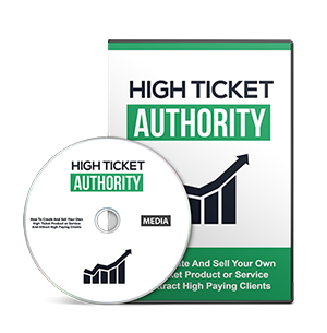 Cover High Ticket Authority Gold Video Upgrade