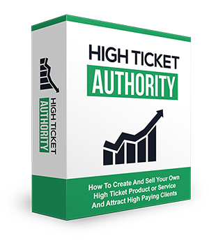 High Ticket Authority Training