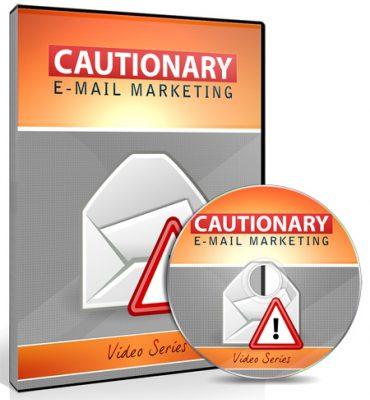 Cover Cautionary Email Marketing Training Video Upgrade