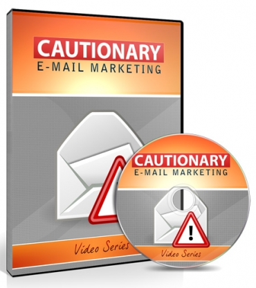 Cover Cautionary Email Marketing Training Video Upgrade