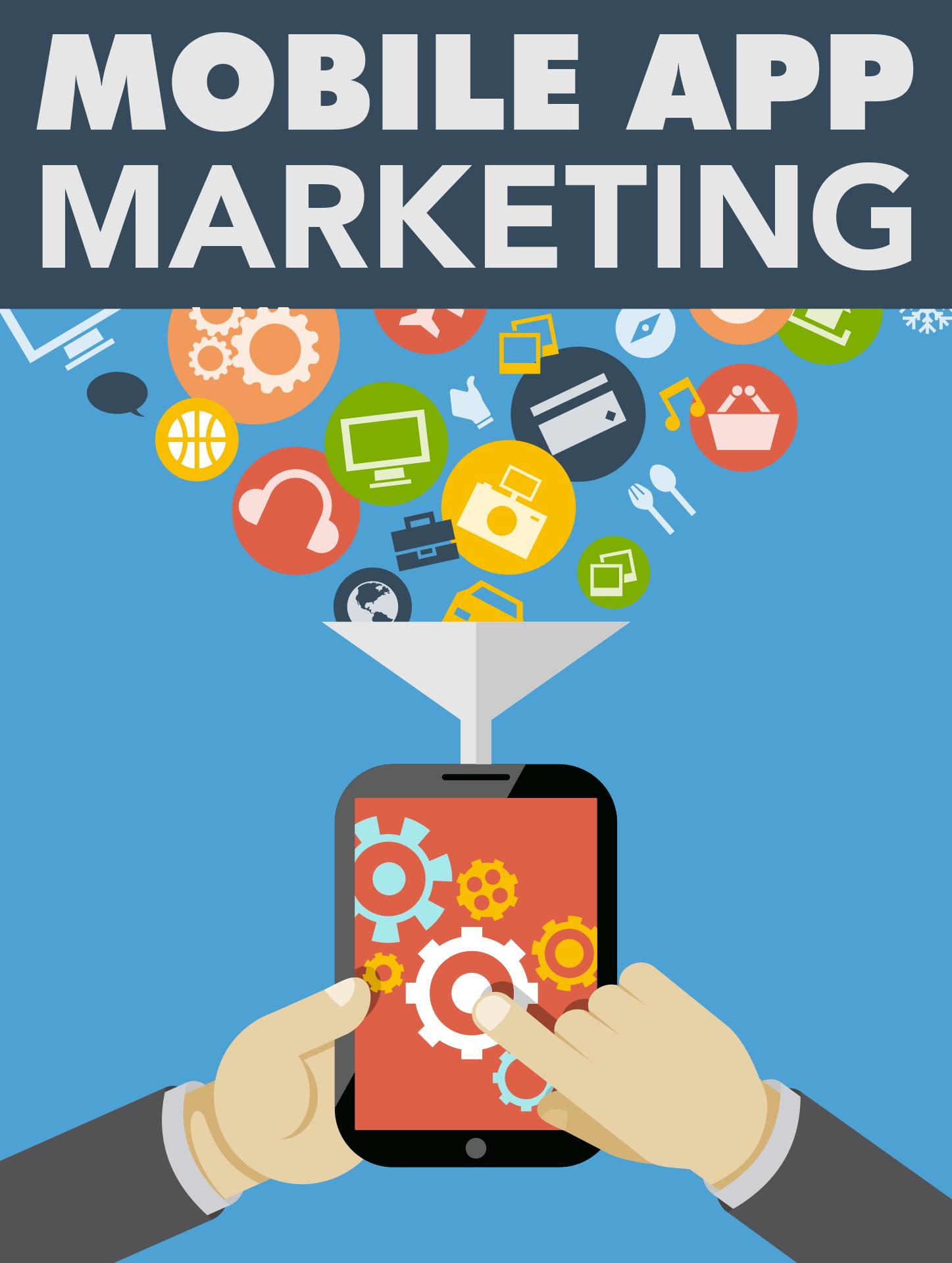 Cover Mobile App Marketing
