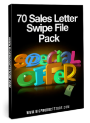 Swipe file sales letter samples