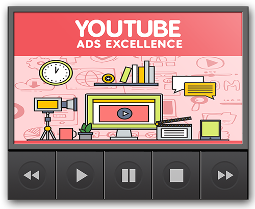 Cover YouTube Ads Excellence Gold Video Upgrade
