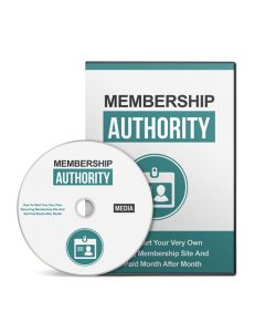 Cover Membership Authority Gold Video Upgrade