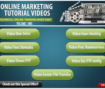 Online Marketing Training Videos Vol 2