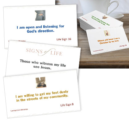 Receive FREE Signs of Life Cards