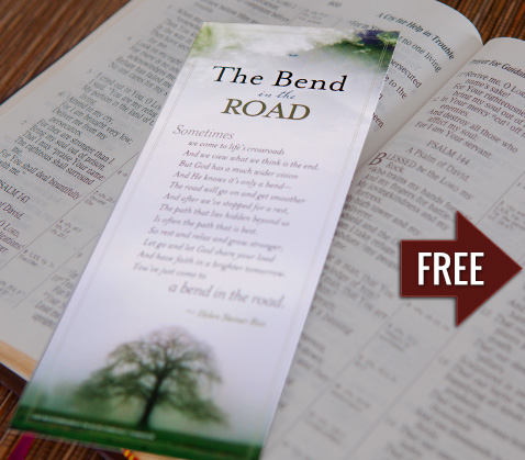Bend in the Road Bookmark - Request Your Bookmark Today!
