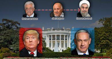 """לקראת פגישת טראמפ-נתניהו, יו""""ר הרשות הפלסטינית מחמוד עבאס הקים ערוץ קשר ישיר עם טהרן והעמיד בראשו את ג'יבריל ראג'וב"""