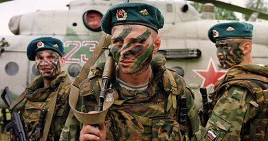צבא רוסיה הציב את חטיבת הצנחנים מס' 31  וכוחות מיוחדים בדרום סוריה מול גבולות סוריה עם ירדן ועם עיראק