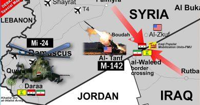 """הסלמה בדרום סוריה. ארה""""ב מחישה לאזור משגרי רקטות. רוסיה שולח תגבורות של מסוקי התקיפה MI-25  במטרה להכריע את הקרב בדרעא"""