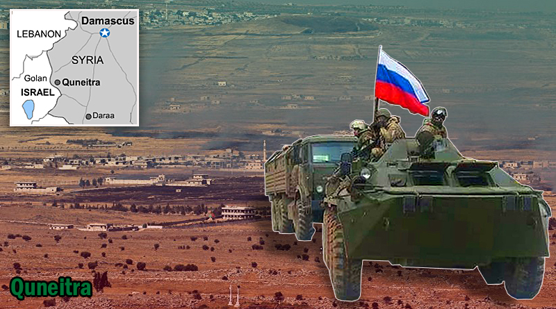 """ארה""""ב ורוסיה כופות את הפסקת האש בסוריה על ישראל. צבא רוסי נערך להיכנס לקונטרה"""