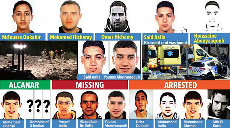 רשת הטרור המרוקנית שפעלה בספרד, משתרעת מהאוקיינוס האטלנטי, דרך הים התיכון, ועד צפון אירופה.  ISIS מאותת: פיגועים נוספים בדרך