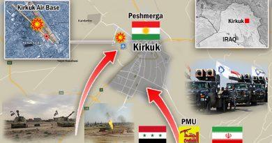 """החלה המלחמה האיראנית-עיראקית נגד הכורדים בקירקוק. ארה""""ב נכשלה במניעתה ובעצירת מעורבות משמרות המהפכה האיראנים"""