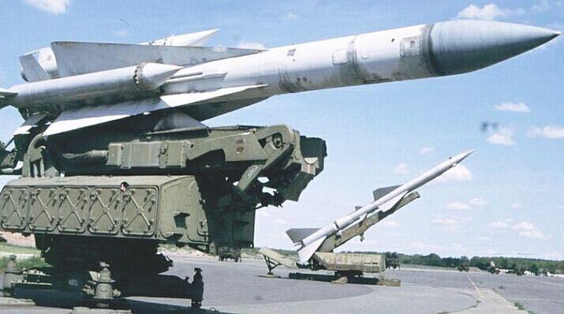"""חיל האוויר תקף והשמיד סוללת נ""""מ SA-5 של צבא סוריה ליד דמשק לאחר  ששיגרה טיל לעבר מטוסי חיל האוויר שטסו מעל לבנון"""