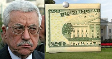 ממשל טראמפ מנתק את קשריו עם הפלסטינים. לא יגיש תכנית שלום.  מקפיא עזרה כלכלית.  הפלסטינים לא יוזמנו יותר לוושינגטון