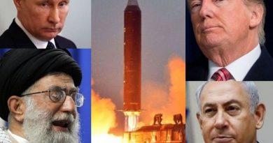 """זירת סוריה היא עתה מוקד ההתנגשות הבין-מעצמתית והאזורית. ארה""""ב וישראל מול רוסיה ואיראן"""