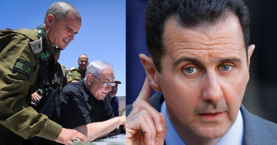 שדר נדיר של הנשיא אסד לישראל: לא אפתח במלחמה. לא נמסור גבולות סוריה לשליטה של כוחות זרים. שדר דומה מלבנון - תיקדבקה
