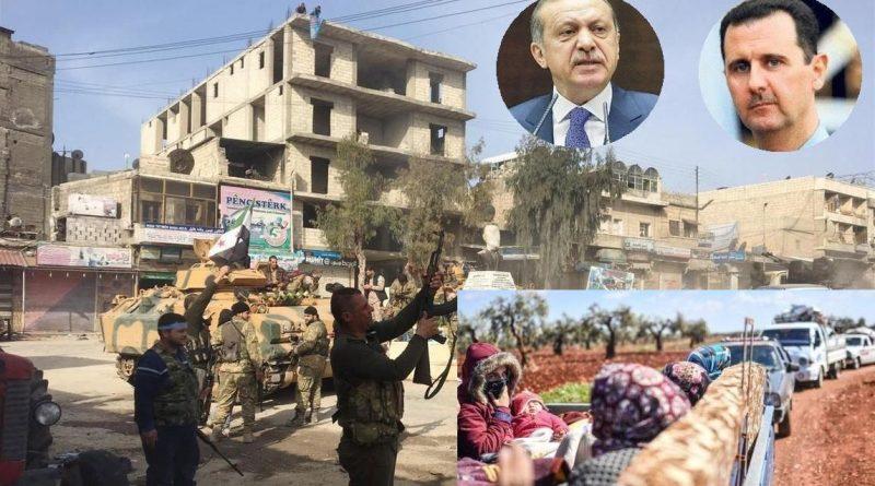 כוחות צבא טורקיים נכנסו לאפרין. כוחות סוריים על סף כיבוש א-רוטה. כרבע מיליון כורדים וסורים במנוסה