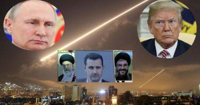 """מול מתקפת הטילים המוגבלת של ארה""""ב-בריטניה-וצרפת מציבות רוסיה ואיראן בסוריה תגובה רב-שכבתית אסטרטגית צבאית"""