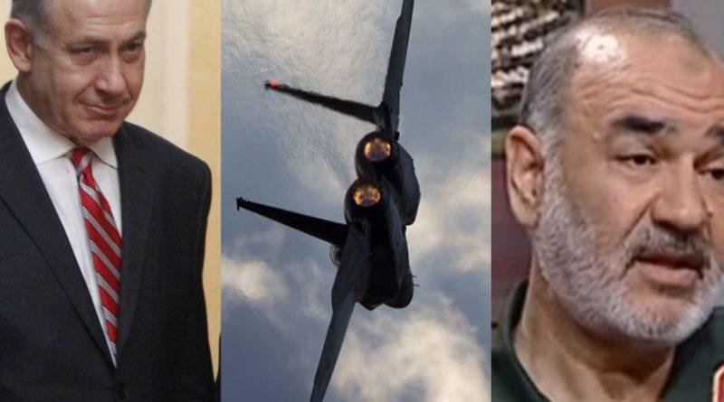 """סגן מפקד משמרות המהפכה הגנרל סאלמי לישראל: ידינו על ההדק והטילים שלנו מוכנים.  רוה""""מ נתניהו:  לא נירתע. אנחנו מוכנים!"""