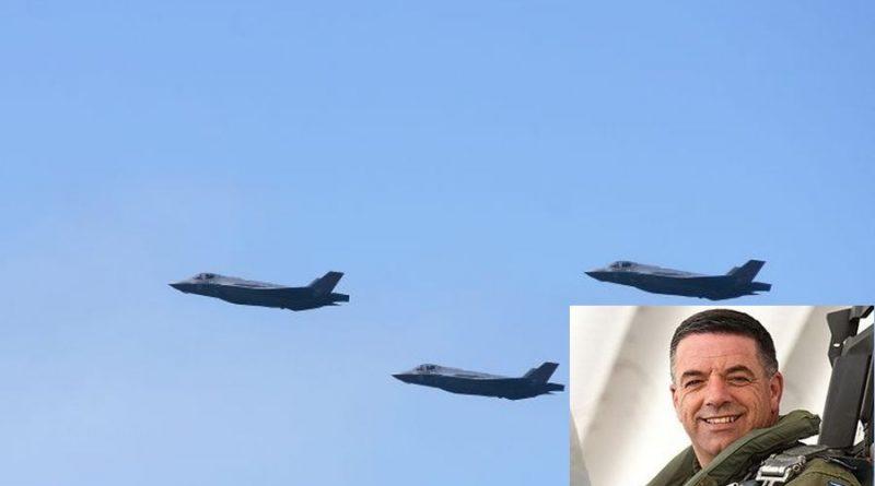 """האלוף נורקין: ה-F-35 הישראליים הראשונים בעולם שהשתתפו בתקיפה מבצעית.  לטילי הנ""""מ הישראליים הצלחת יירוט של 85 אחוז"""