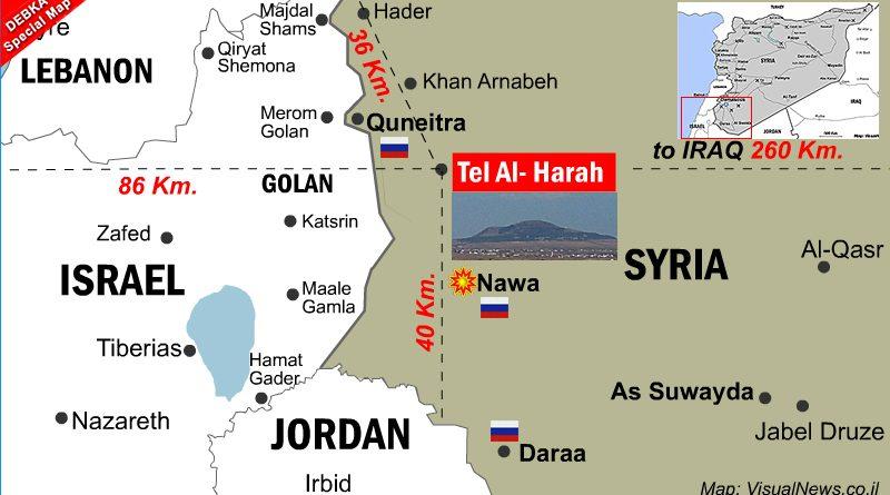 טראמפ ונתניהו מסרו לידי פוטין והמודיעין הרוסי את השליטה בדרום סוריה לאורך גבולות ירדן וישראל