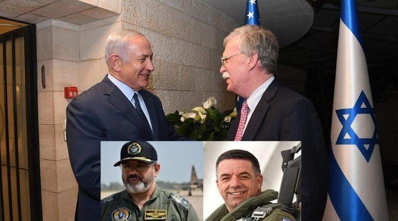 """עם בואו של ג'ון בולטון לישראל נערכות ארה""""ב, ישראל ואיראן למערכה הצבאית ביניהן בסוריה"""