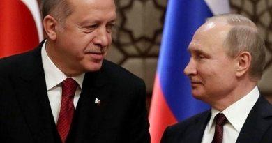 פוטין וארדואן ינסו לסגור בסוצ'י את העסקה הרוסית-טורקית לגבי אידליב. ההתקפה תתבצע לבסוף אולם לא לפני אוקטובר-נובמבר