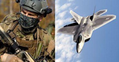 """רוסיה הציבה כוחות מיוחדים בדרום סוריה. ארה""""ב: מטוסי החמקן F-22 מהווים הרתעה ל-600 מטוסי קרב רוסיים, איראניים וסוריים בסוריה"""