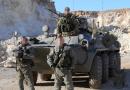 כוחות מיוחדים רוסיים, אירניים וסוריים  בתמרון צבאי משותף באזור דיר א-זור במזרח סוריה. רוסיה החלה להעביר ציוד צבאי דרך מעבר אבו קמאל