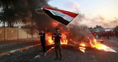 של מי היד הנסתרת מאחורי המהומות בעיראק בהן נהרגו כ-100 מפגינים וכ-4,000 נפצעו?  הברית בין חמנאי, אל סאדר וסוליימני