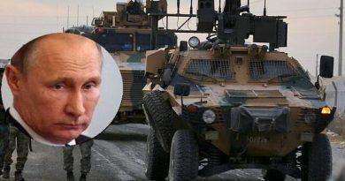"""המשימה לעצור את הצבא הטורקי בצפון סוריה עוברת מנשיא ארה""""ב דונלד טראמפ, אשר מסרב להתערב במלחמה, לנשיא רוסיה ולדימיר פוטין"""