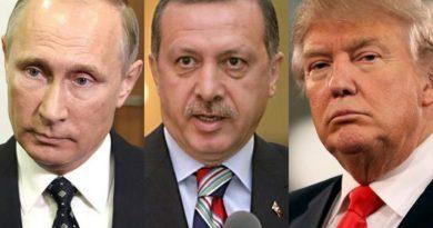 למרות דברי הרהב כי שום דבר לא יעצור את המבצע הטורקי ארדואן וצבאו נמחצים בלחץ התיאום שבין טראמפ ופוטין