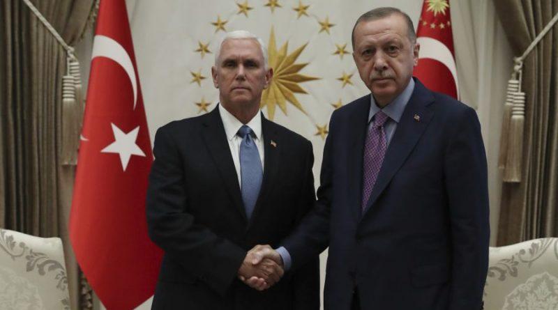 """ארה""""ב וטורקיה הסכימו על הפסקת אש בסוריה ל-120 שעות. אבל הכדור נמצא בידי מוסקבה ודמשק"""