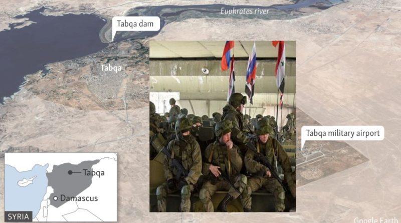 """כוחות רוסיים נכנסים לבסיסים האוויריים האמריקנים בצפון סוריה. השליטה האווירית במזרח סוריה עוברת מידי ארה""""ב לרוסיה"""