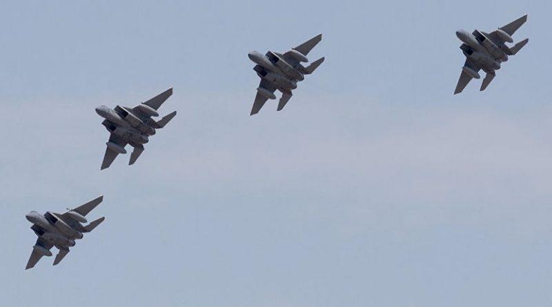 תקיפה נרחבת של חיל האוויר על מטרות של  גדודי 'אל קודס' האיראניים וצבא סוריה בתגובה על ירי הטילים האיראנים על רמת הגולן