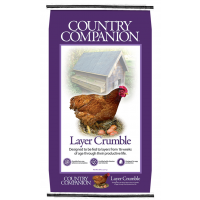 Nutrena Counrty Companion Layer 16% Crumble Feed 50lb