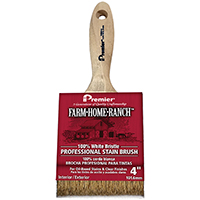 4in Fhr Oil Stain Brush