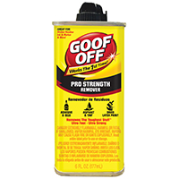 6oz Goof Off Paint Remover