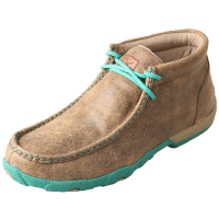 Twisted X Women's Driving Moccasin - Bomber & Turquoise