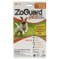 Zoguard Plus Dog 4-22lb. 3 Pack