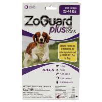 Zoguard Plus Dogs 23-44lb. 3 Pack
