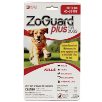 Zoguard Plus Dogs 45-88lb. 3 Pack