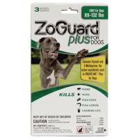 Zoguard Plus Dog 89-132lb. 3 Pack