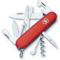 Swiss Army Red Climber Knife