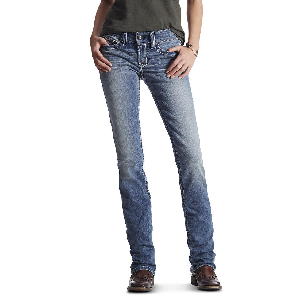 Ariat Women's Real Bootcut Simple Stitch