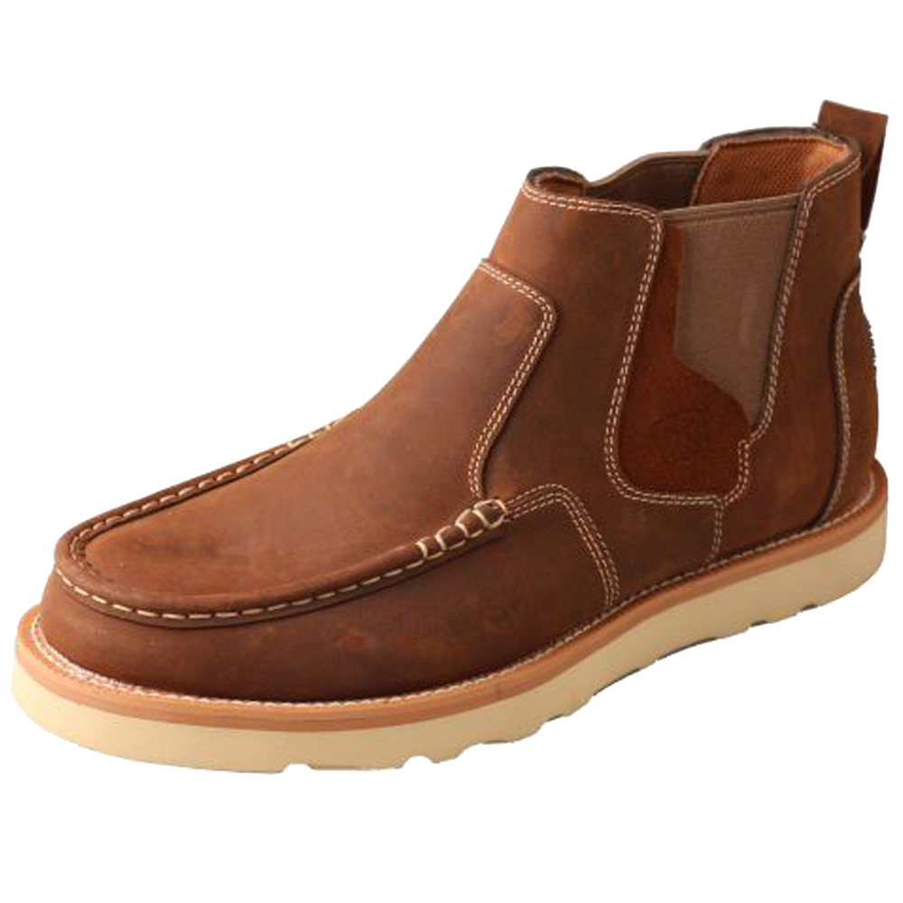 Twisted X Men's Casual Shoe - Oiled Saddle