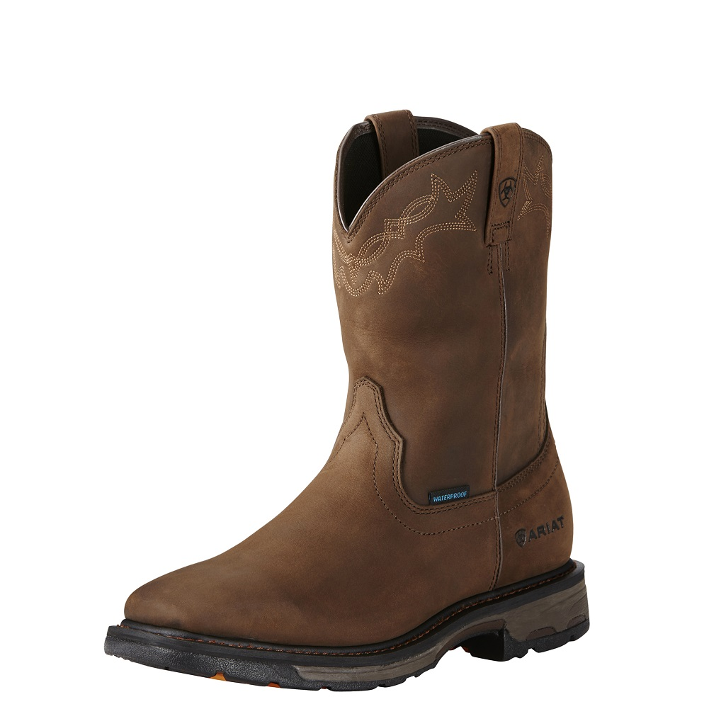 Ariat Men's Workhog H2O Square Toe 10020093